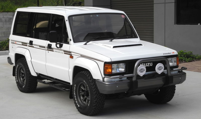 download ISUZU TROOPER workshop manual