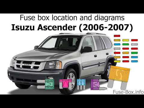 download Isuzu Ascender workshop manual