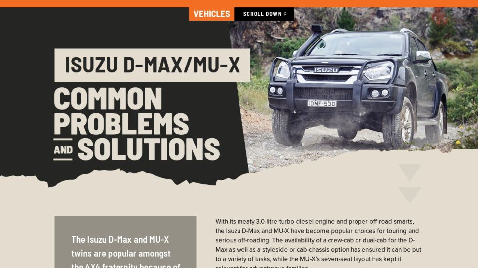 download Isuzu D MAX workshop manual