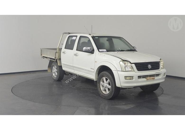 download Isuzu TF Holden Rodeo RA workshop manual