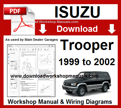 download Isuzu Trooper workshop manual