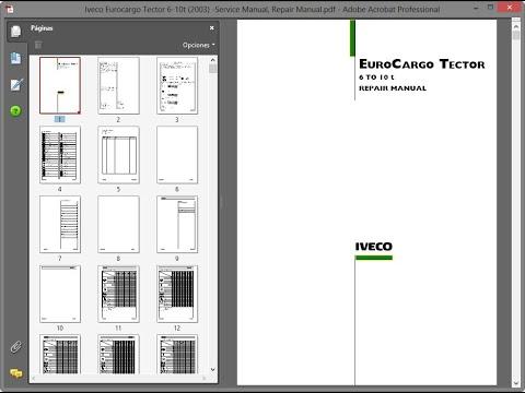 download Iveco Eurotrakker Cursor 13 workshop manual