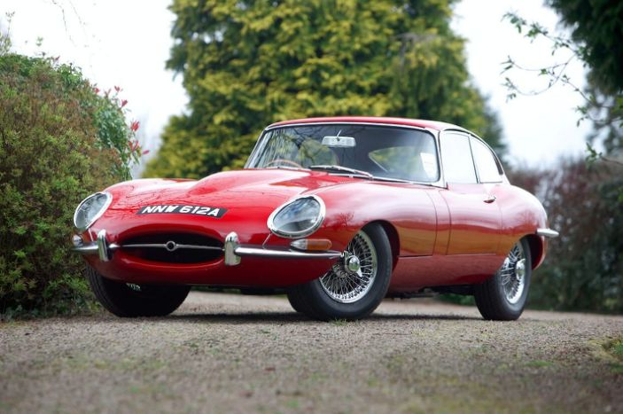 download JAGUAR E TYPE I II workshop manual