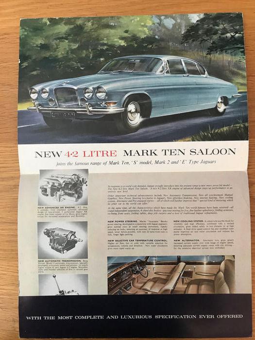 download Jaguar Mark 10 4.s workshop manual