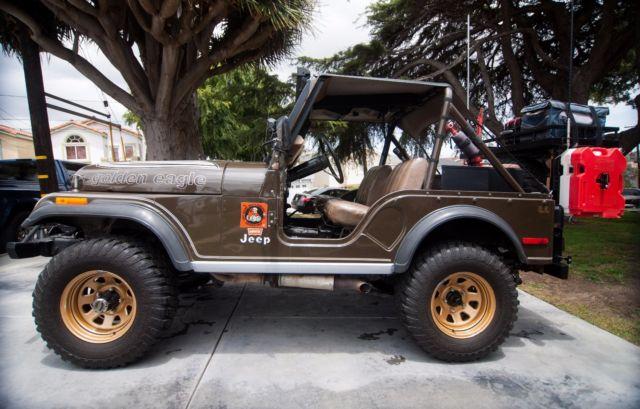 download Jeep CJ5 Golden Eagle Sport workshop manual