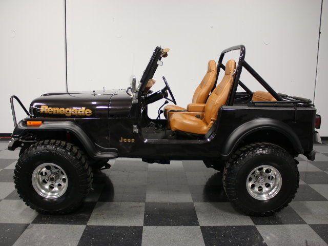 download Jeep CJ7 Renegade Sport workshop manual