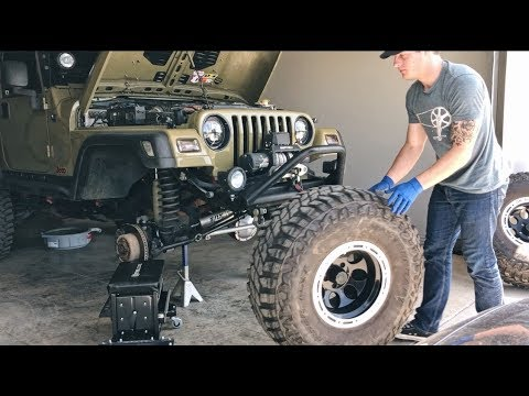 download Jeep Wrangler TJ workshop manual