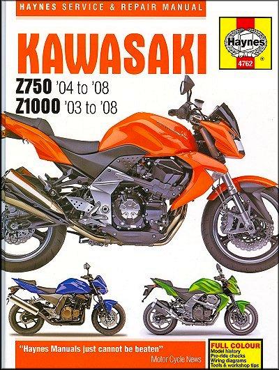 Kawasaki Z750  Zr750  And Z1000  Zr1000  2003  U2013 2008haynes