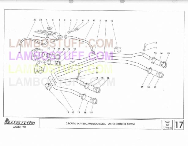 download Lamborghini Diablo 2WD workshop manual