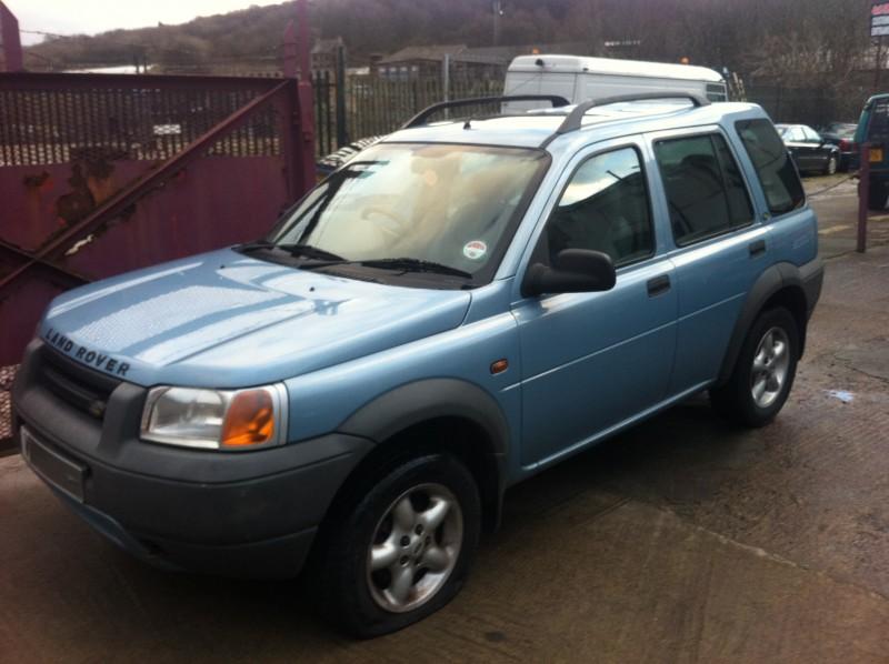 download Land Rover Freelander K series workshop manual