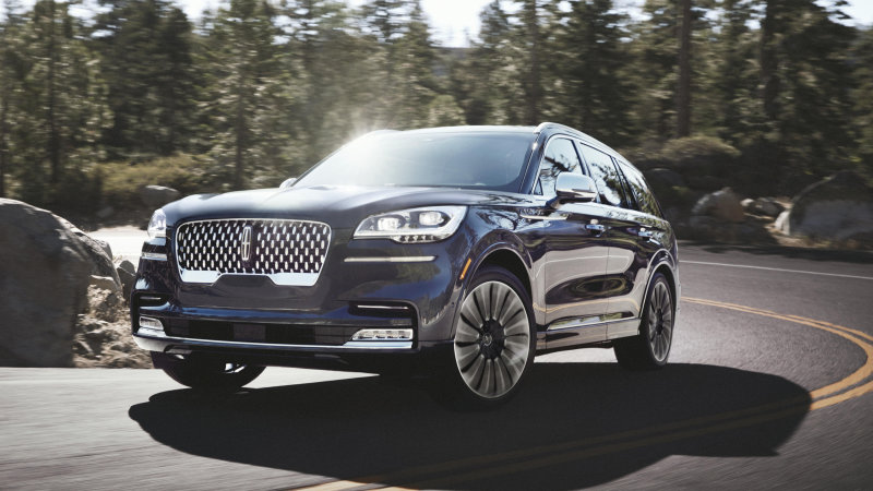 download Lincoln Aviator workshop manual