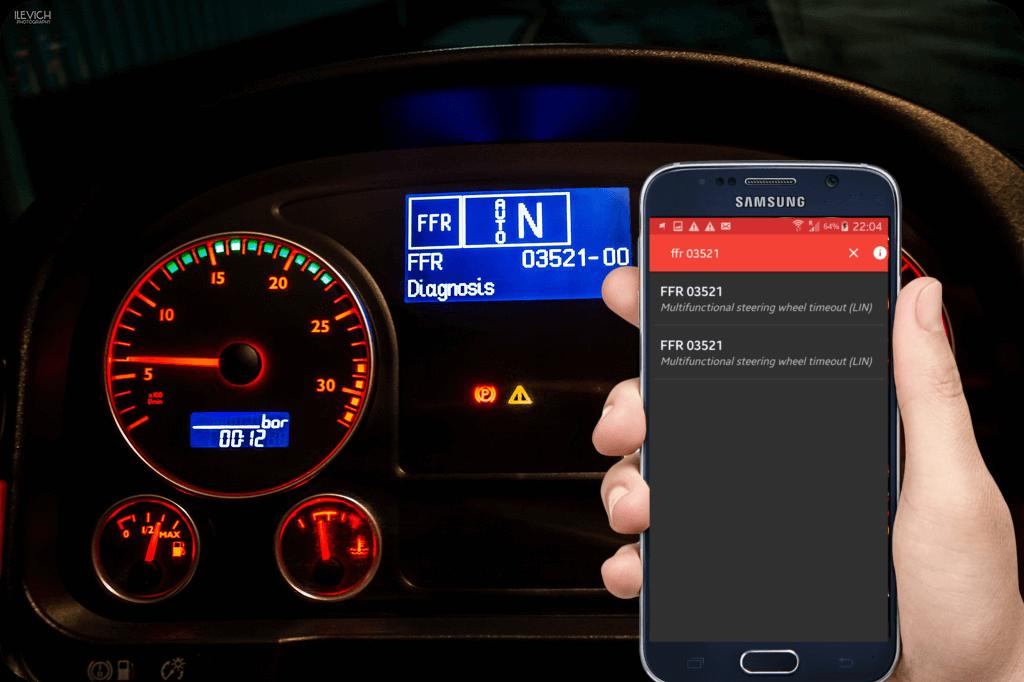 download MAN Truck Fault Code workshop manual