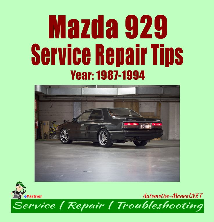 download MAZDA 929 workshop manual