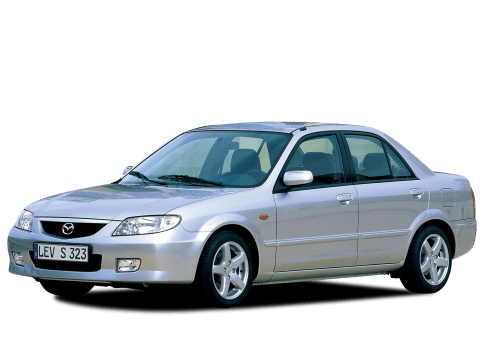 download MAZDA PROTEGE 323 workshop manual
