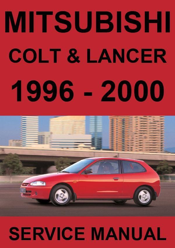 download MITSUBISHI COLT Lancer Manuals workshop manual