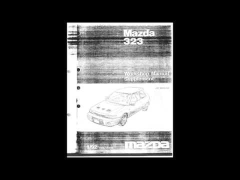 download Mazda 323 GTR Supplement   1 workshop manual