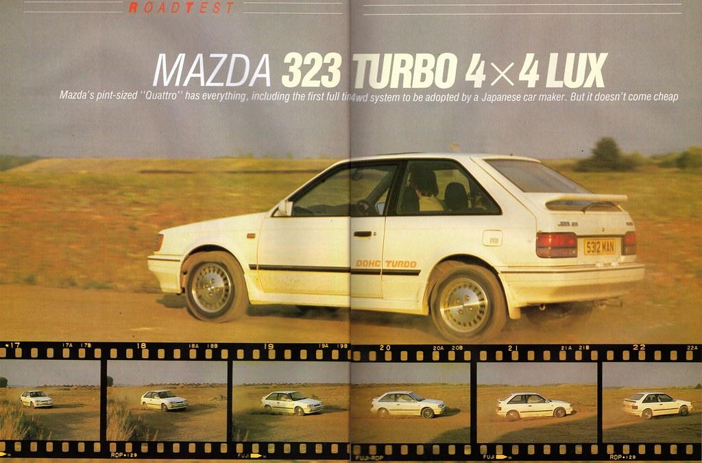 download Mazda 323 workshop manual