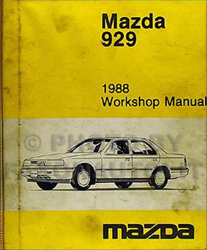 download Mazda 929 workshop manual