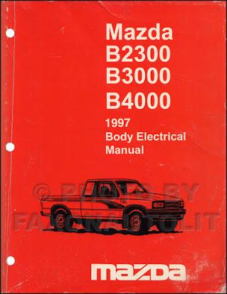 download Mazda B series workshop manual