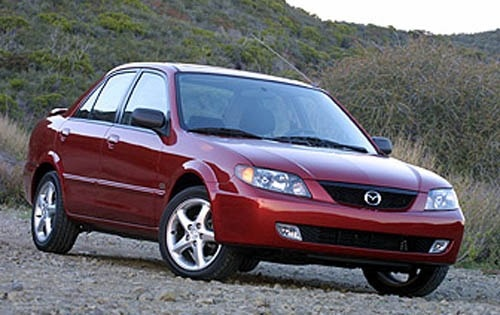 download Mazda Protege workshop manual