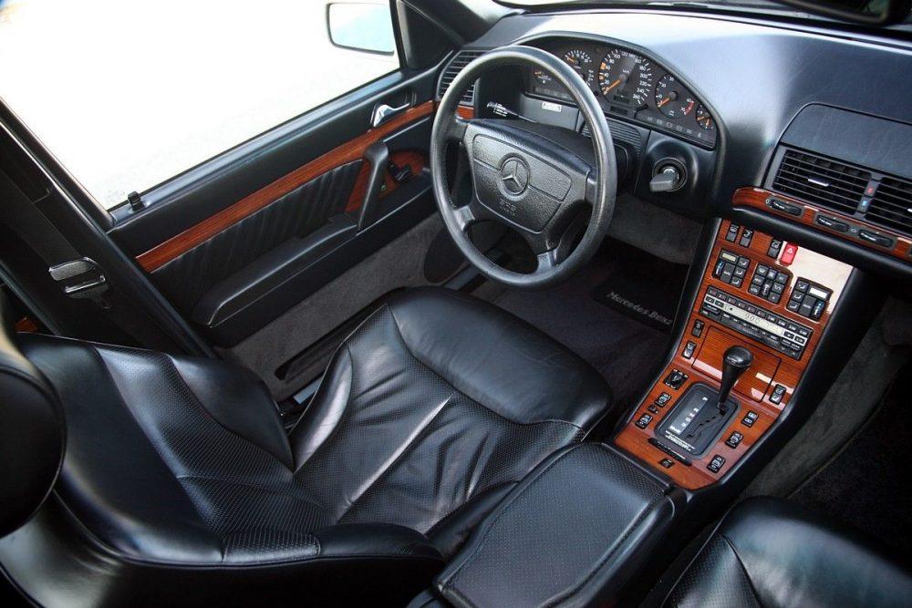 download Mercedes 400SEL 93 workshop manual
