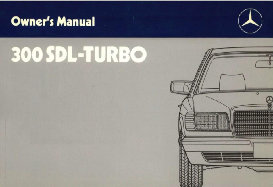 download Mercedes Benz 380SE w126 workshop manual