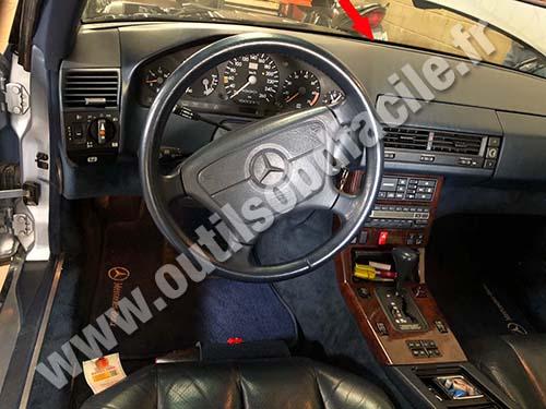 download Mercedes Benz 500SL workshop manual