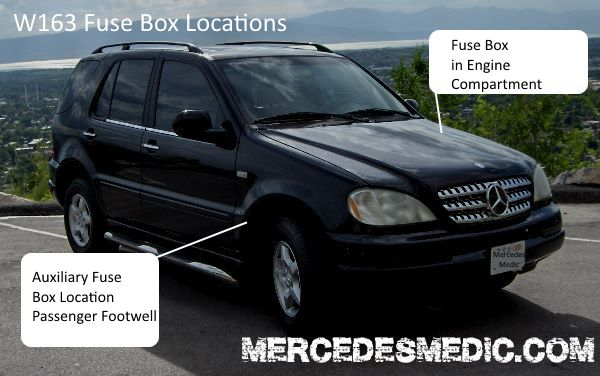 download Mercedes Benz ML320 ML350 ML500 workshop manual