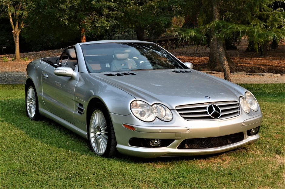 download Mercedes Benz SL55 AMG workshop manual
