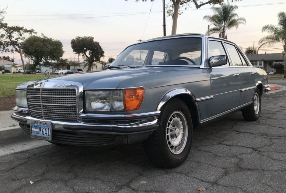 download Mercedes Benz W116 280 S workshop manual