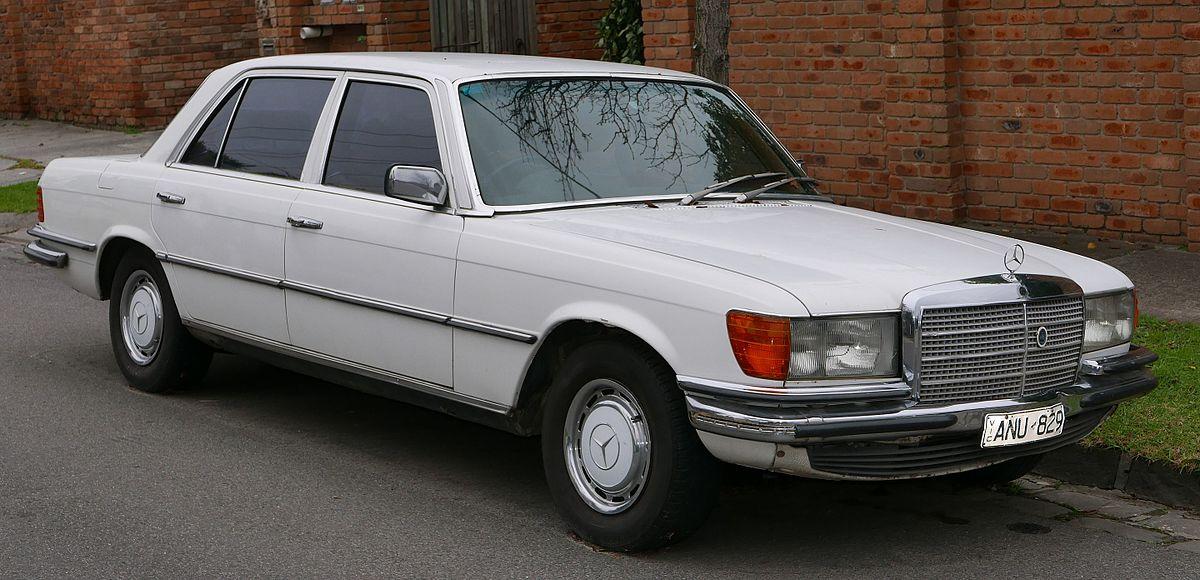 download Mercedes Benz W116 280 SE workshop manual