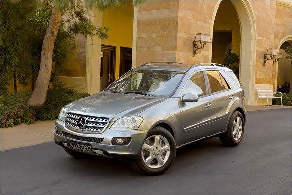 download Mercedes ML320 workshop manual