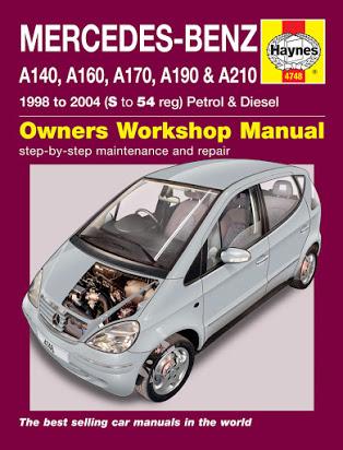 download Mercedes W168 A170CDI workshop manual