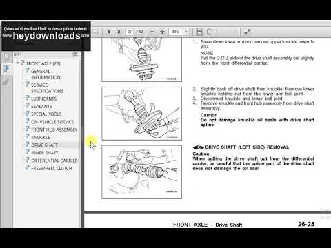 download Mitsubishi L300 Express Star Wagon Delica 2WD 4WD workshop manual
