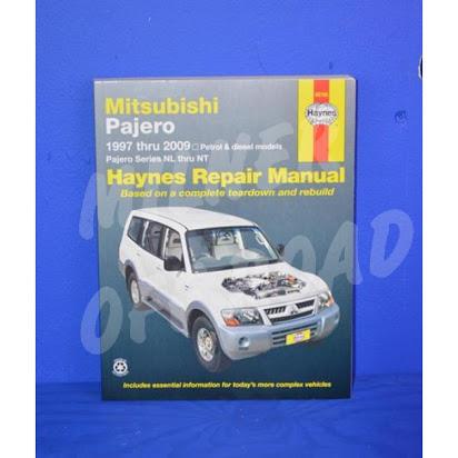 download Mitsubishi Pajero NP workshop manual