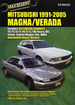 download Mitsubishi Verada workshop manual