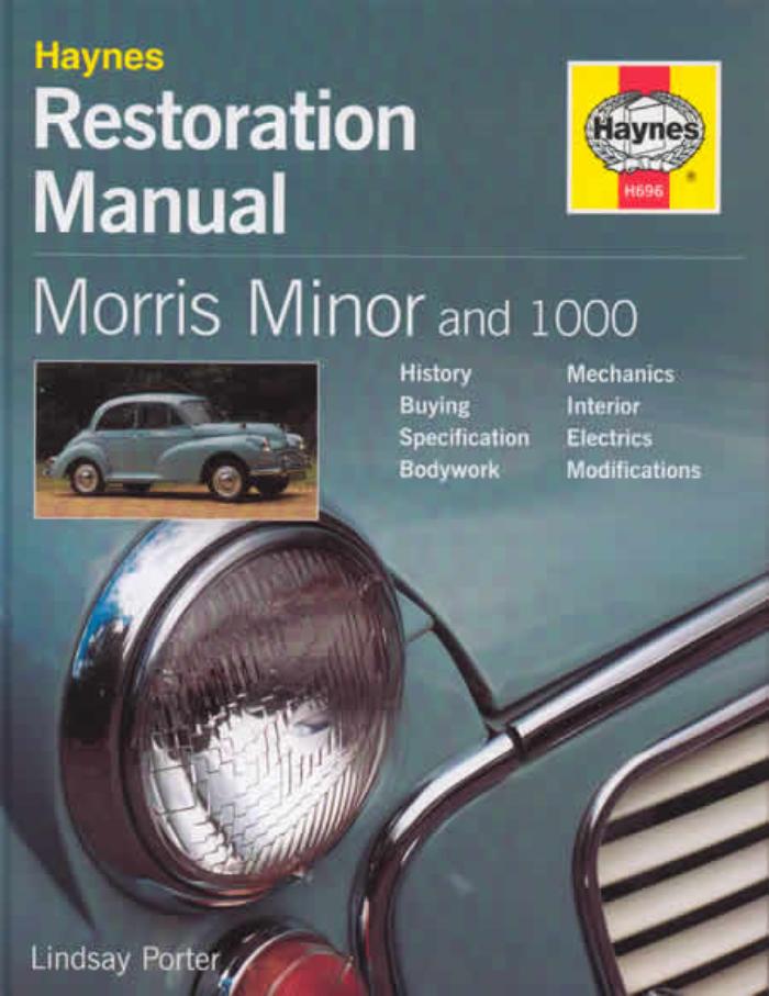 download Morris Minor MM II 1000 workshop manual