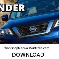 download Nissan Pathfinder R52 workshop manual