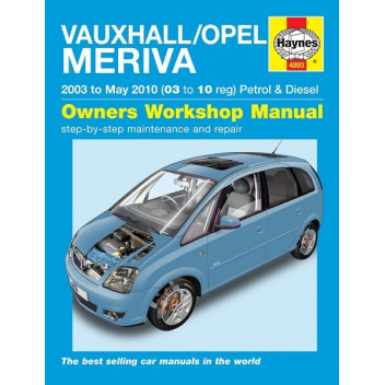 download OPEL MERIVA B workshop manual