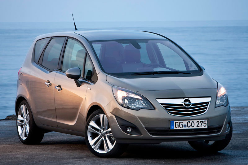 download OPEL MERIVA CROSSVAN workshop manual