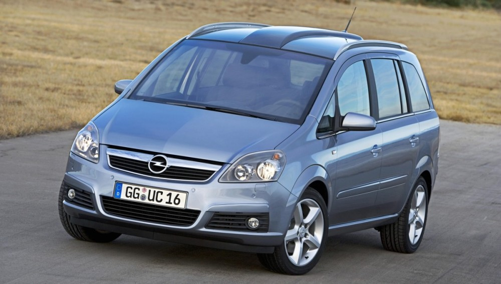 download OPEL ZAFIRA MPV workshop manual