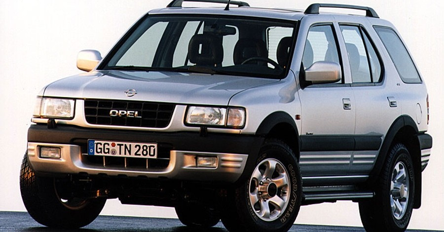 download Opel Vauxhall Frontera workshop manual