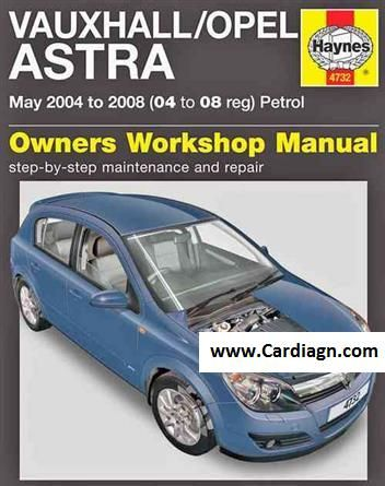 download Opel Vauxhall Kadett Manua workshop manual