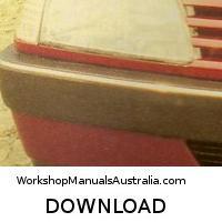 workshop manual