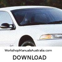 download PLYMOUTH BREEZE workshop manual