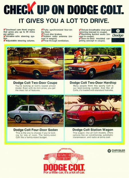 download PLYMOUTH COLTModels workshop manual