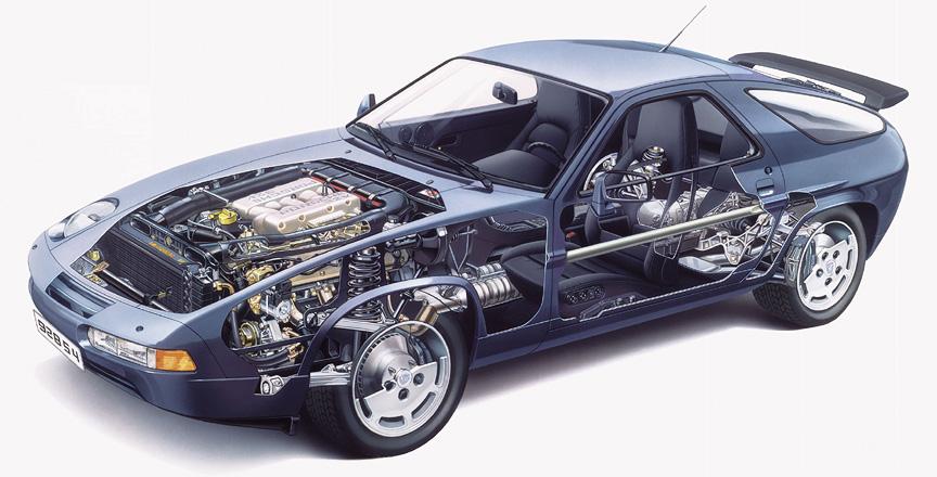 download PORSCHE 928 16V To 32V GEAR CONVERSION Instructions workshop manual