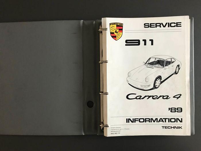 download PORSCHE 964 CARRERA 2 CARRERA 4 workshop manual