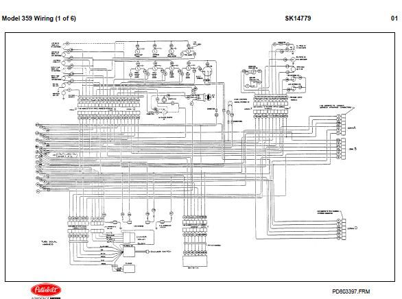 download Peterbilt 359 Schematics workshop manual