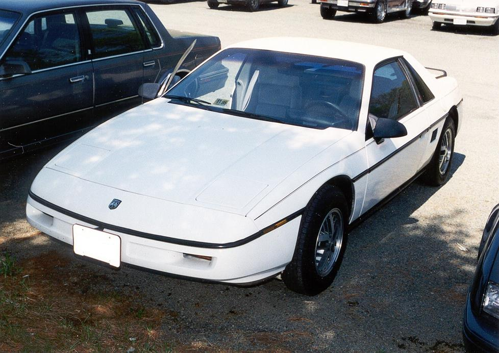 download Pontiac Fiero s Repa workshop manual